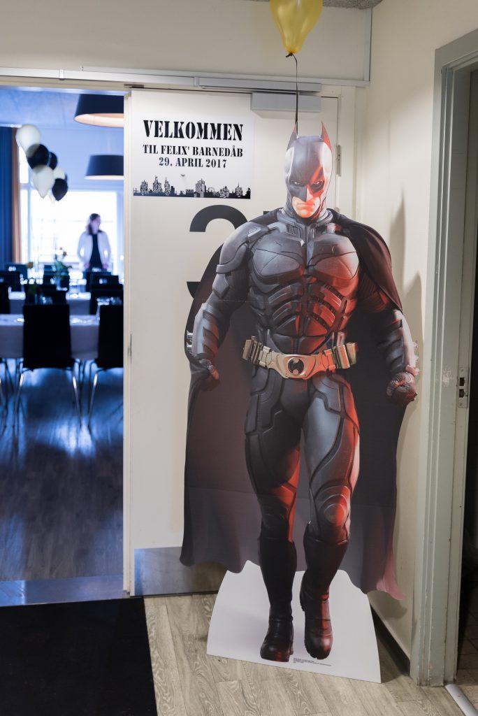 Batman figur barnedåb