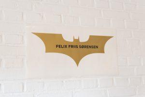 batman navneskilt