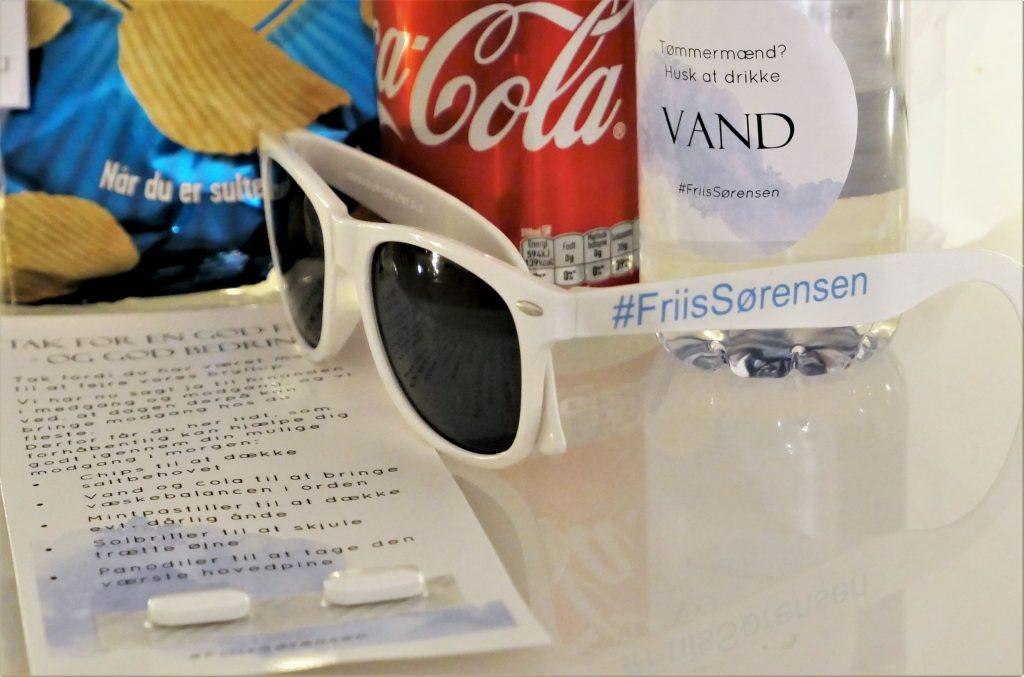 Solbriller med tryk